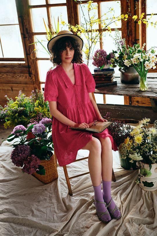 Medicine - Sukienka Essential ostry różowy