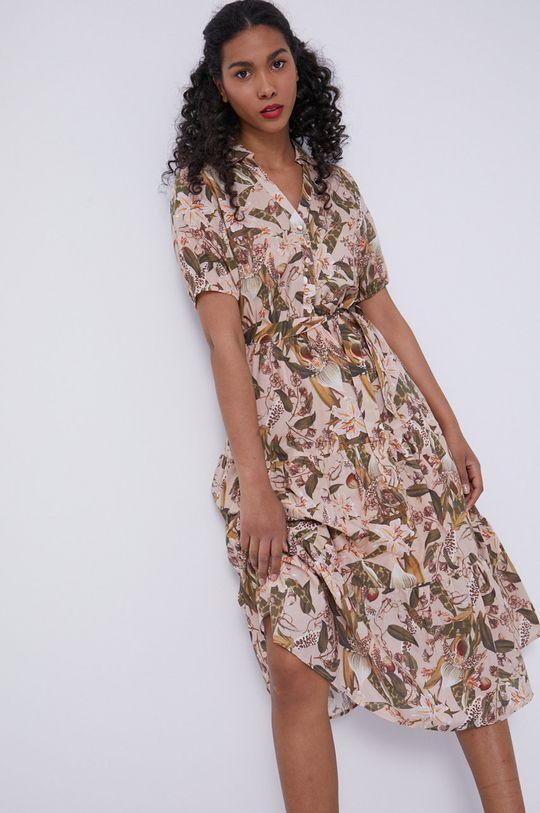 piaskowy Medicine - Sukienka Tropical Chaos