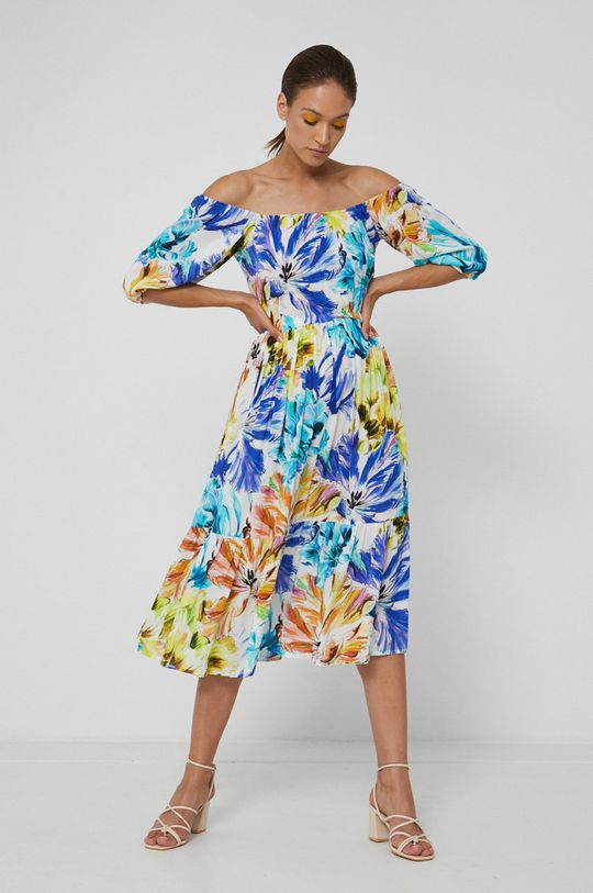 Medicine - Šaty Abstract Meadow vícebarevná