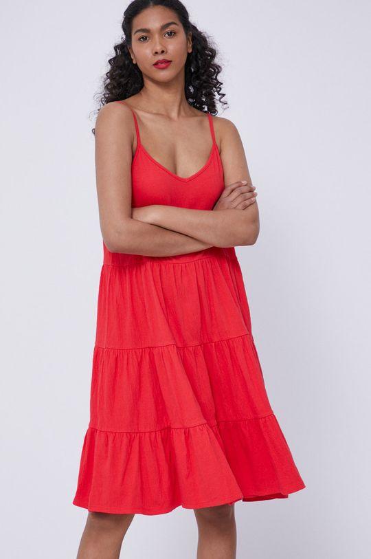 Medicine - Sukienka Essential czerwony