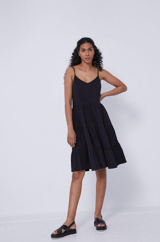 Medicine - Šaty Essential černá