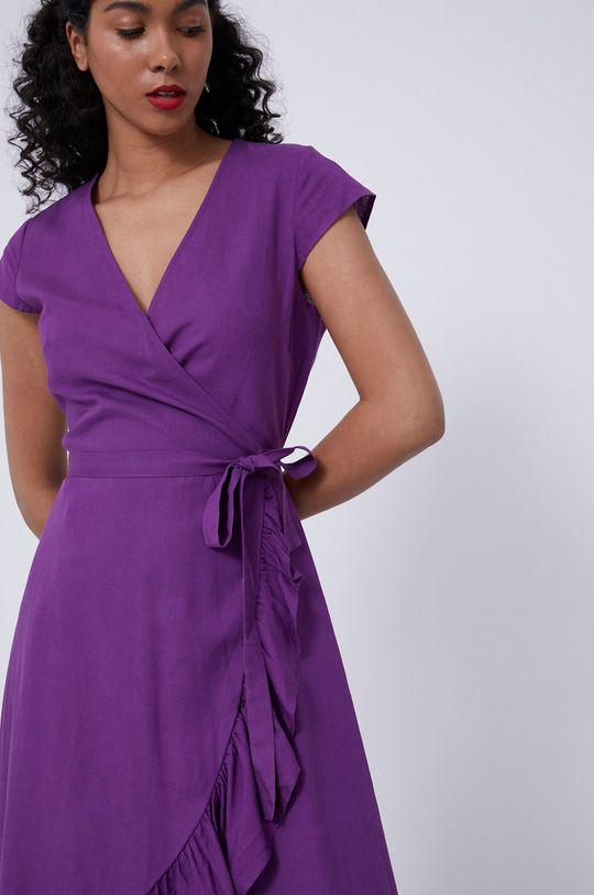 purpurový Medicine - Šaty Staycation