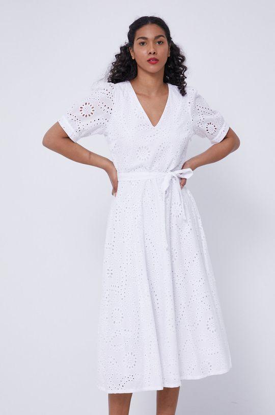 biały Medicine - Sukienka Essential Damski