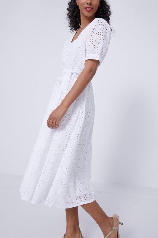 biały Medicine - Sukienka Essential