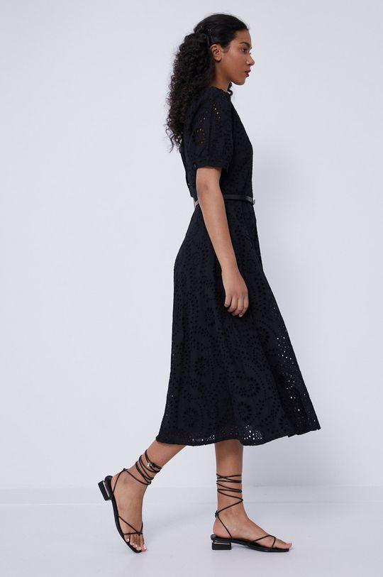 czarny Medicine - Sukienka Essential