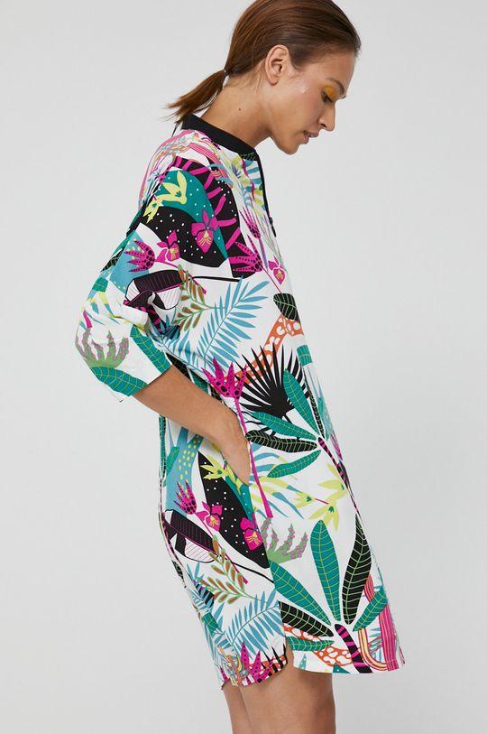 miętowy Medicine - Sukienka Abstract Garden