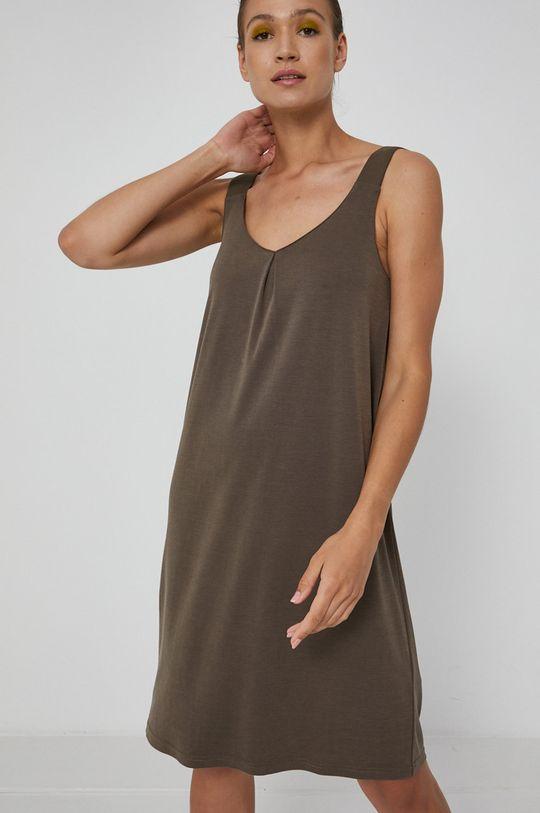 khaki Medicine - Šaty Essential Dámský