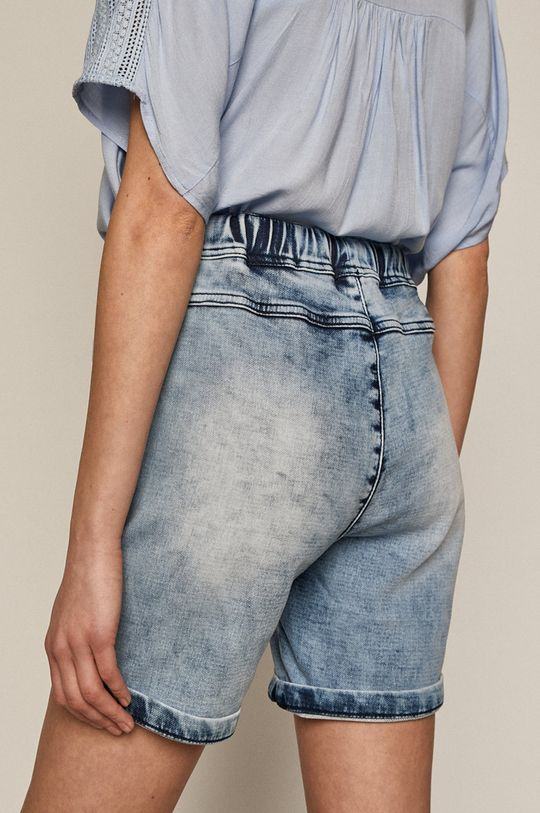 Medicine - Rifľové krátke nohavice Denim  Podšívka: 98% Bavlna, 2% Elastan