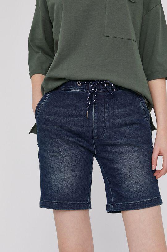 granatowy Medicine - Szorty jeansowe Denim Damski