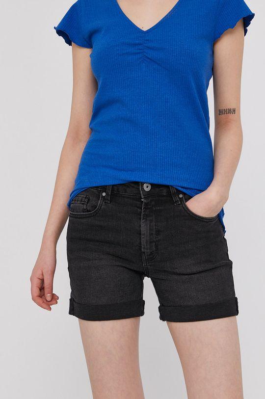 czarny Medicine - Szorty jeansowe Denim