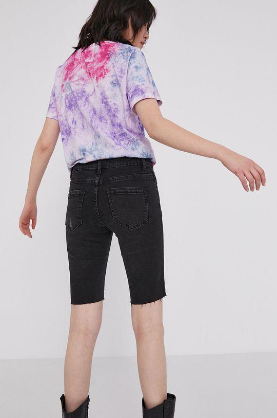 Medicine - Rifľové krátke nohavice Denim  98% Bavlna, 2% Elastan