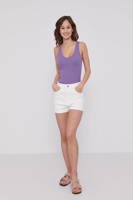 Medicine - Szorty jeansowe Denim biały
