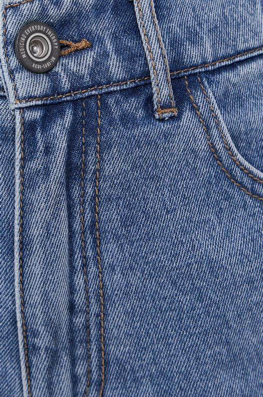 modrá Medicine - Rifľové krátke nohavice Staycation