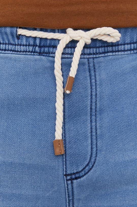 svetlomodrá Medicine - Rifľové krátke nohavice Basic