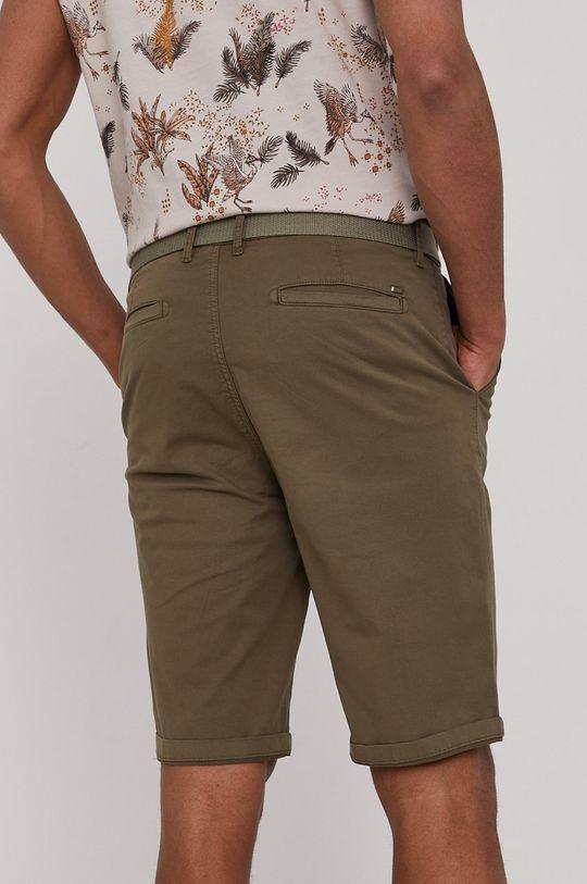Medicine - Pantaloni scurti Basic verde maro