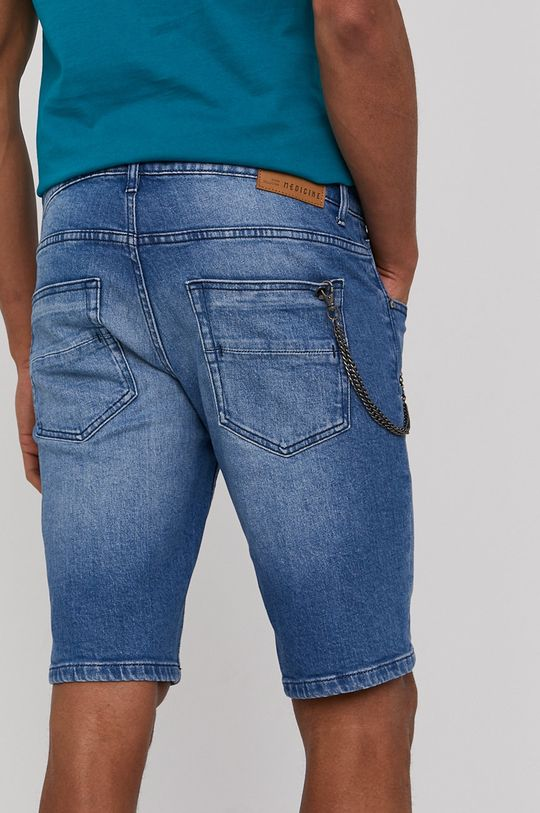 Medicine - Rifľové krátke nohavice Summer Vibes  98% Bavlna, 2% Elastan