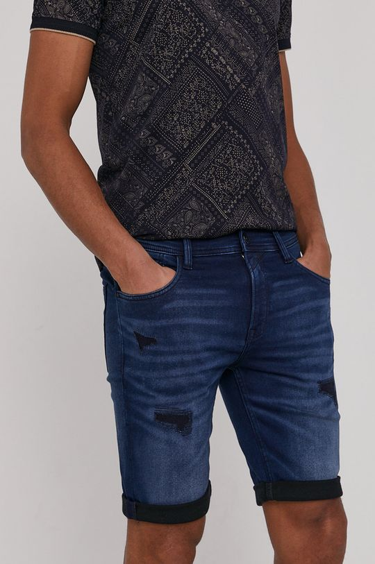 granatowy Medicine - Szorty jeansowe Summer Heat Męski