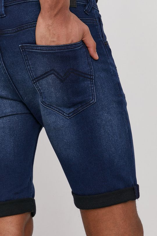 granatowy Medicine - Szorty jeansowe Summer Heat