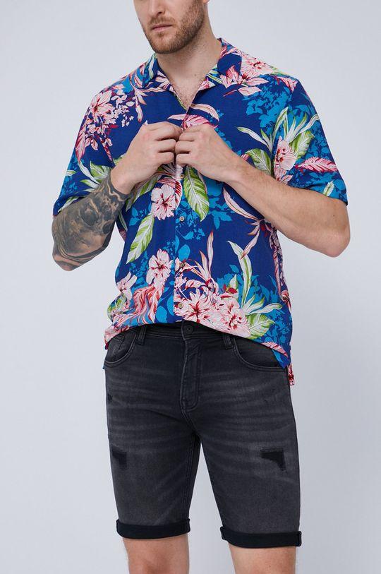 czarny Medicine - Szorty jeansowe Summer Heat Męski