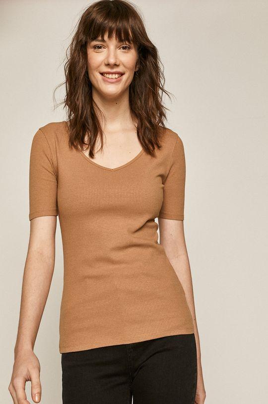 beżowy Medicine - T-shirt Basic Damski