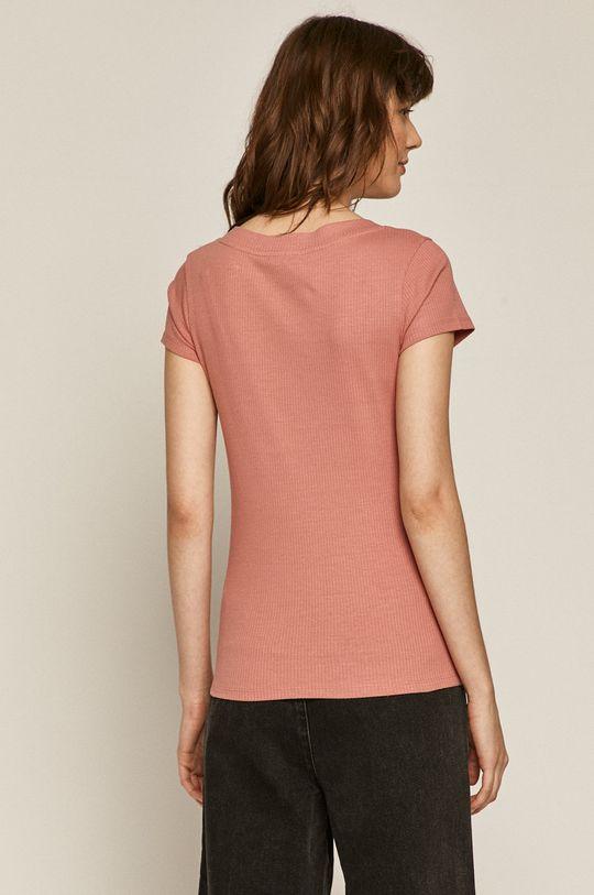 Medicine - T-shirt Basic <p>T-shirt beżowy/ czarny/ niebieski/ różowy/ żółty: 95 % Bawełna organiczna, 5 % Elastan  T-shirt szary: 80 % Bawełna organiczna, 15% Wiskoza, 5 % Elastan</p>