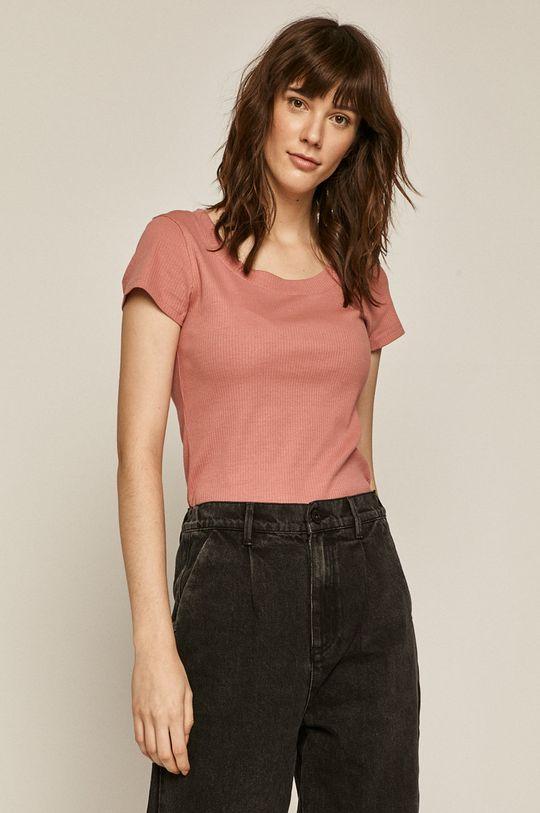 czerwony róż Medicine - T-shirt Basic