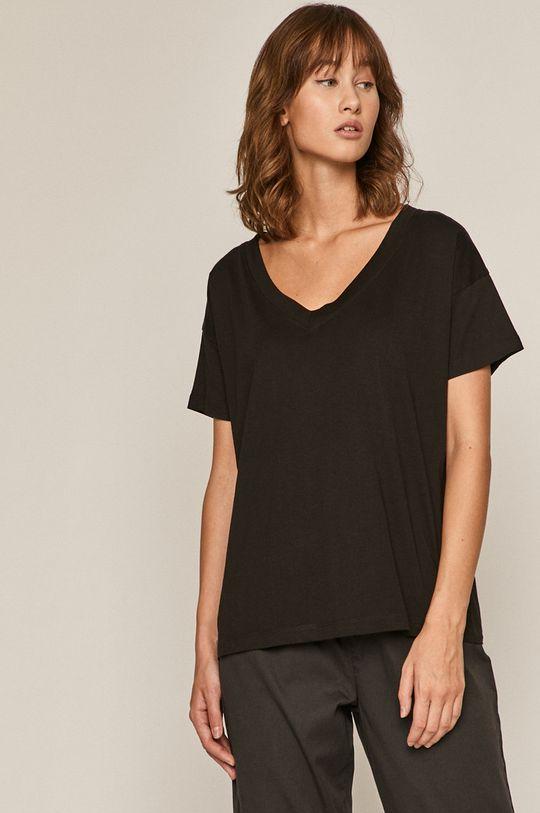 czarny Medicine - T-shirt Basic Damski