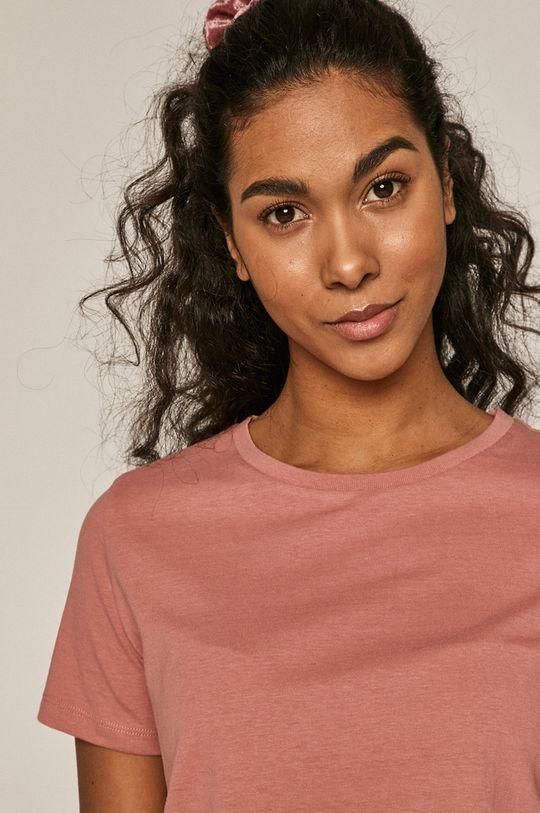 Medicine - T-shirt Basic <p>T-shirt beżowy/ czarny/ biały/ różowy: 100% Bawełna organiczna  T-shirt szary: 90% Bawełna organicza, 10% Wiskoza</p>