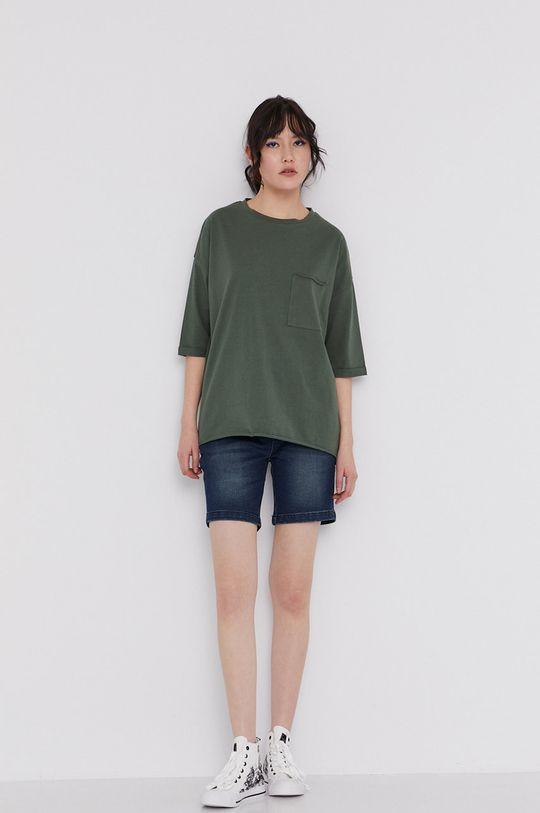 zielony Medicine - T-shirt Basic Damski
