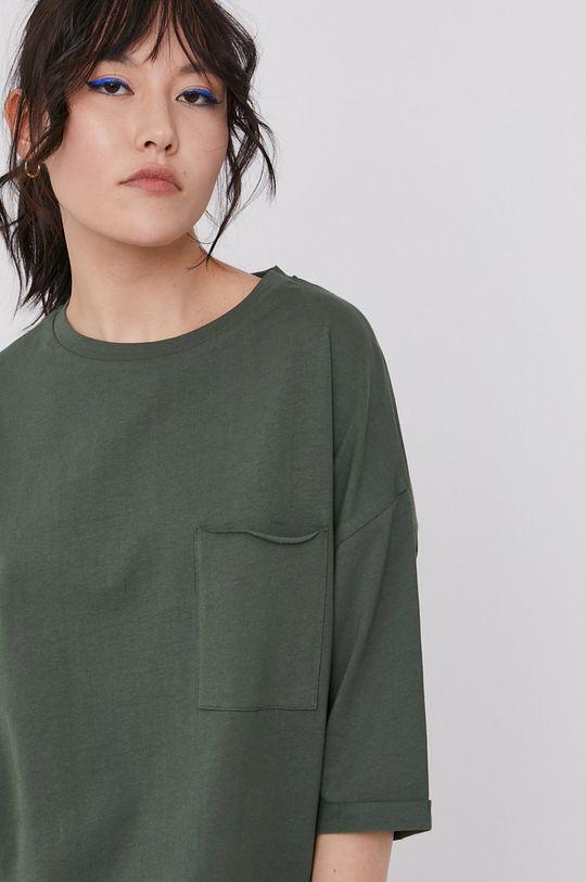 zielony Medicine - T-shirt Basic