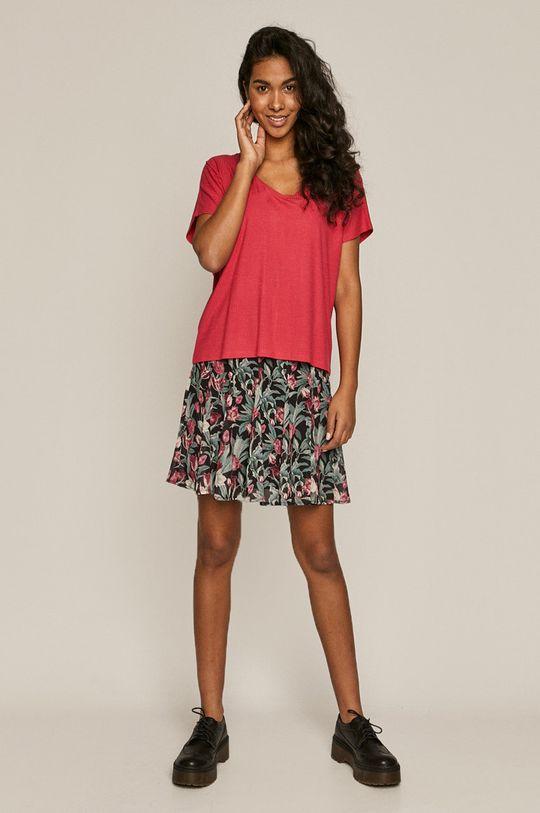 Medicine - T-shirt Basic ostry różowy