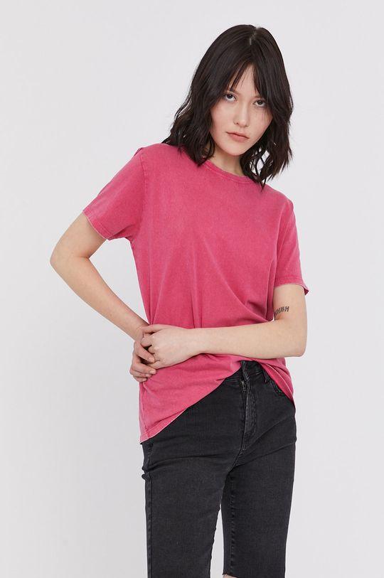 fuksja Medicine - T-shirt Basic Damski