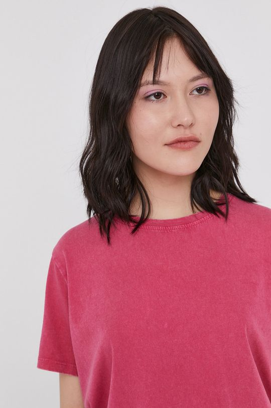 fuksja Medicine - T-shirt Basic