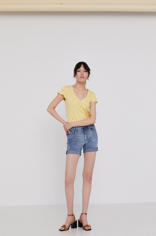Medicine - T-shirt Basic jasny żółty