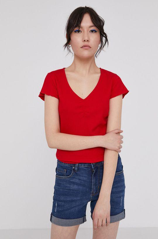 czerwony Medicine - T-shirt Basic Damski