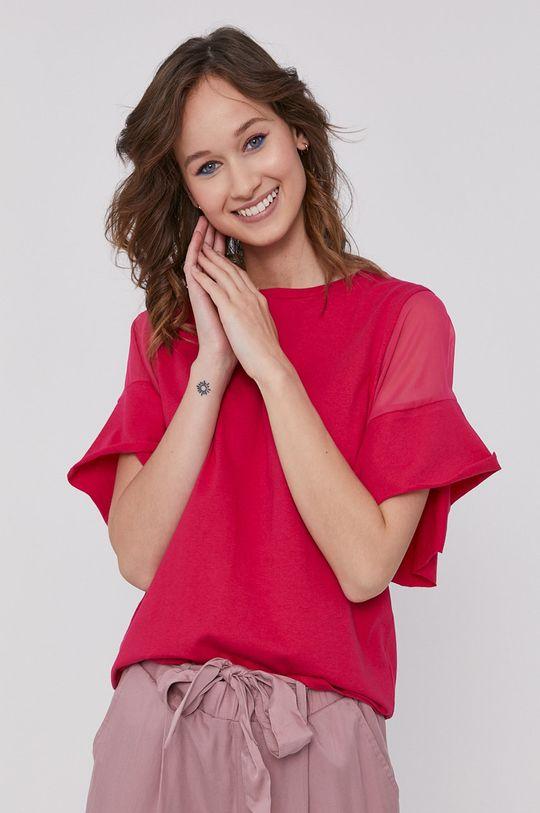 sýto ružová Medicine - Tričko Basic Dámsky
