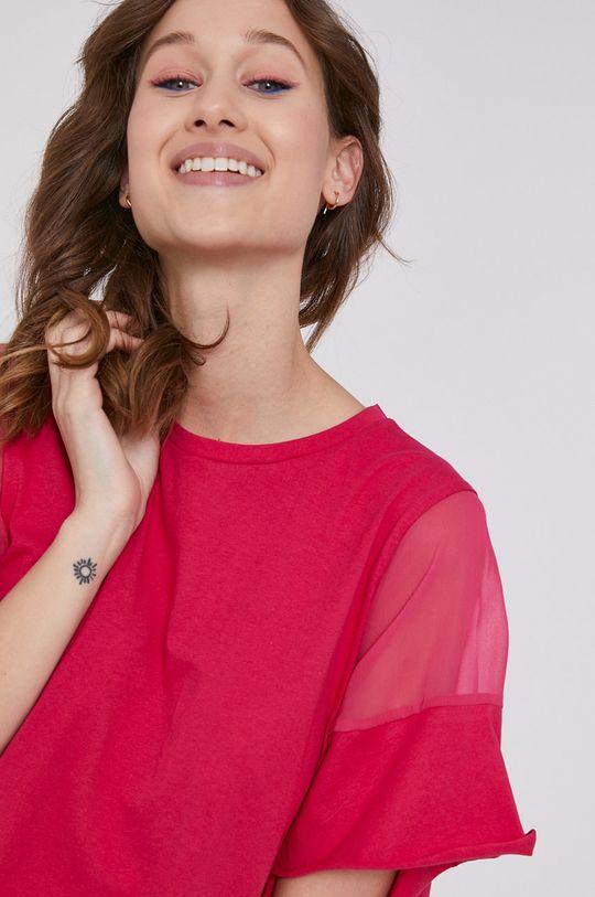 sýto ružová Medicine - Tričko Basic