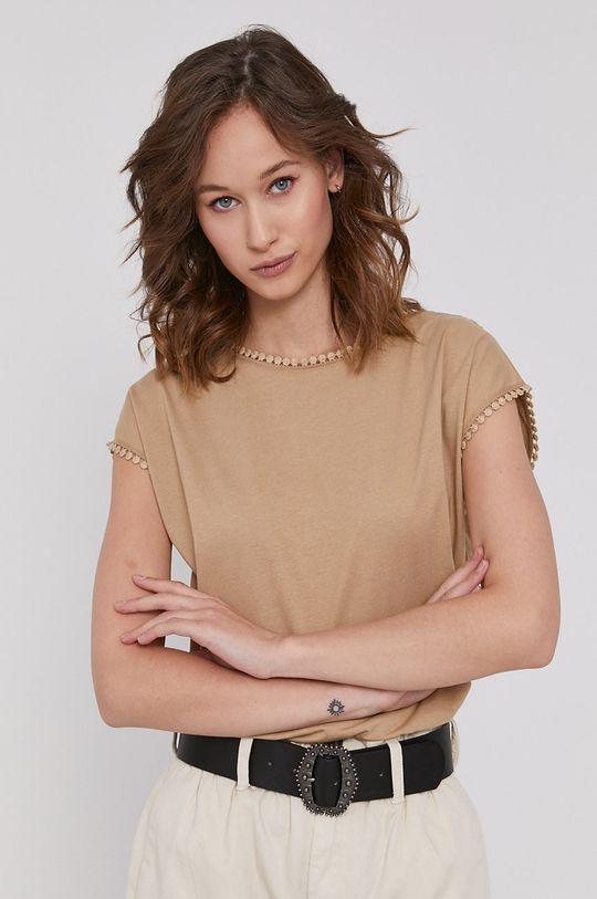 piaskowy Medicine - T-shirt Basic Damski