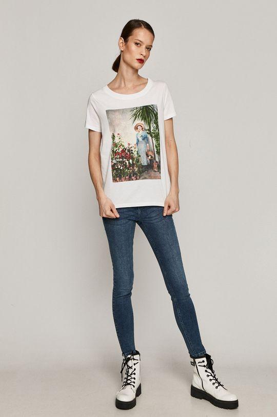 Medicine - T-shirt EVIVA L'ARTE biały