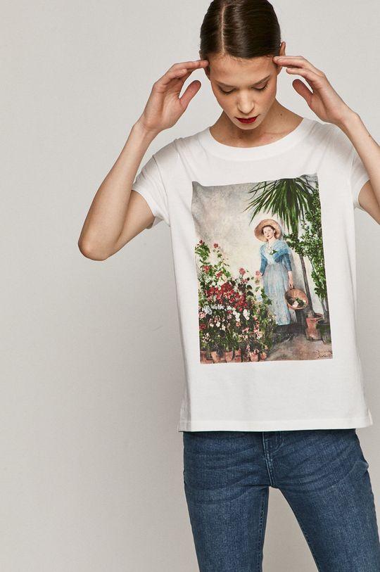 biały Medicine - T-shirt EVIVA L'ARTE