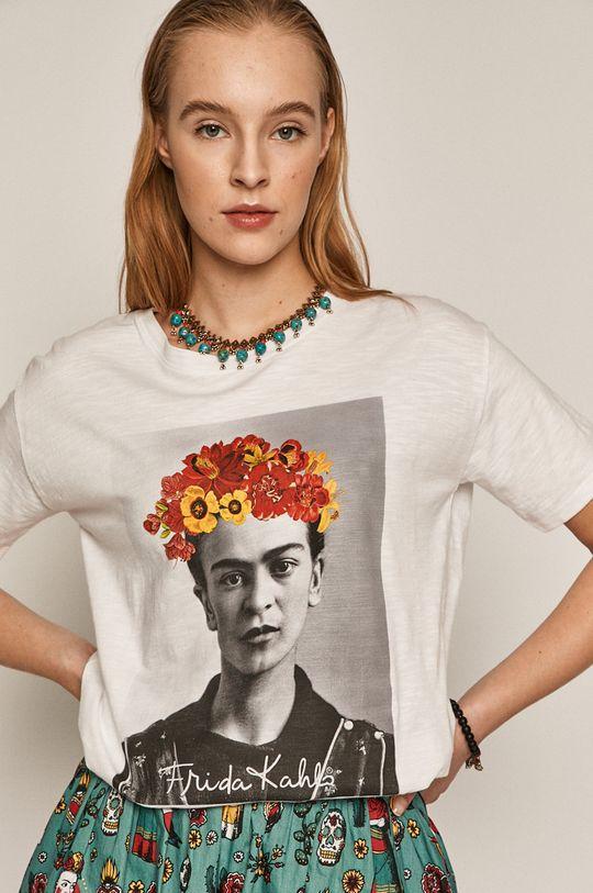 biela Medicine - Tričko Frida Kahlo