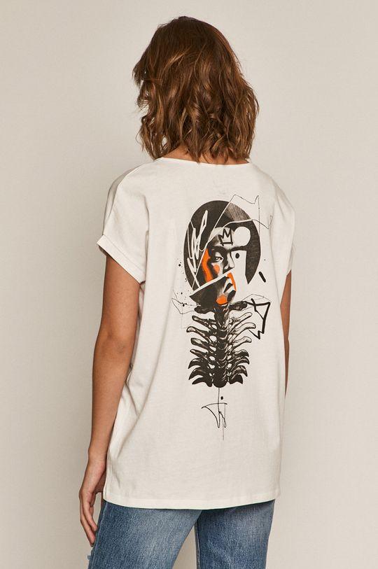 biały Medicine - T-shirt by Akvarko, Tattoo Art