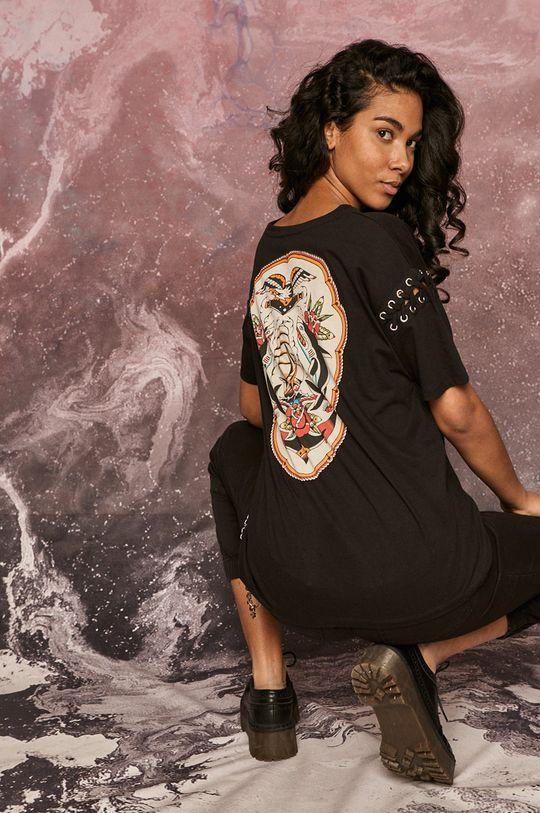 černá Medicine - Tričko by Gruby Kruk, Tattoo Art Dámský