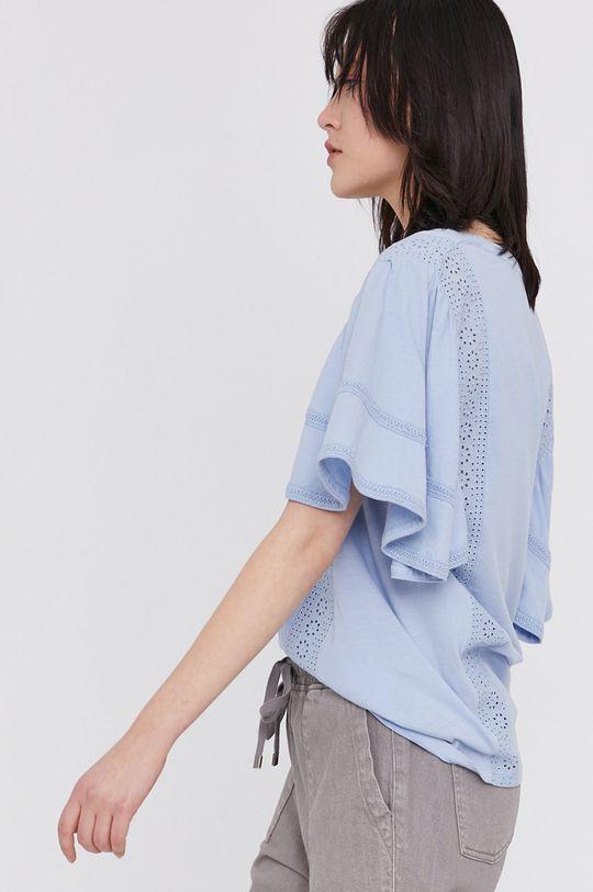blady niebieski Medicine - T-shirt Summer Linen