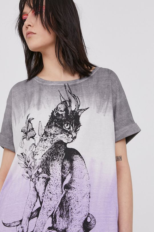 lawendowy Medicine - T-shirt Summer Fest Damski