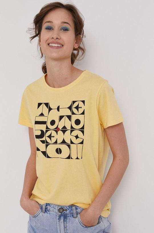 żółto - zielony Medicine - T-shirt by Bartek Bojarczuk