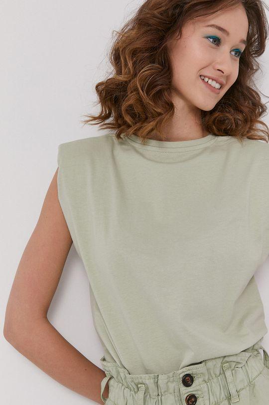 blady zielony Medicine - T-shirt Tropical Chaos Damski