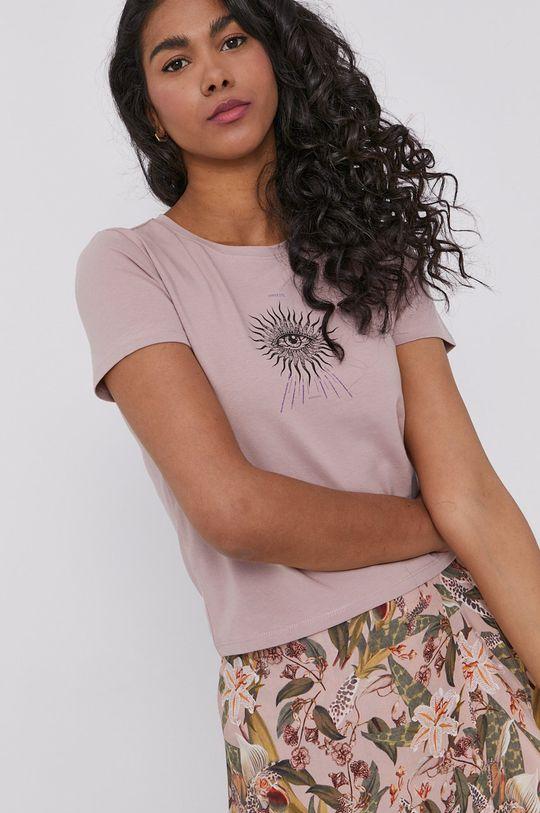 pastelowy różowy Medicine - T-shirt Magical Feelings Damski