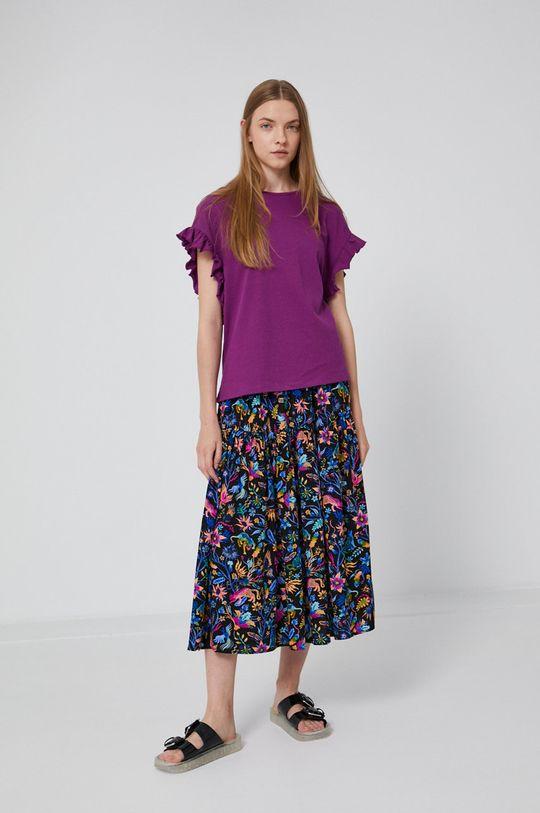 Medicine - T-shirt Staycation purpurowy