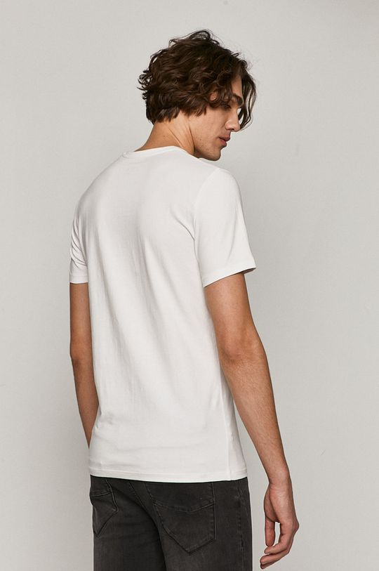 Medicine - T-shirt Basic <p>T-shirt biały/ czarny/ fioletowy: 95 % Bawełna, 5 % Elastan  T-shirt szary: 76 % Bawełna, 19% Wiskoza, 5 % Elastan  T-shirt niebieski/ granatowy: 57 % Bawełna, 38% Poliester, 5 % Elastan</p>